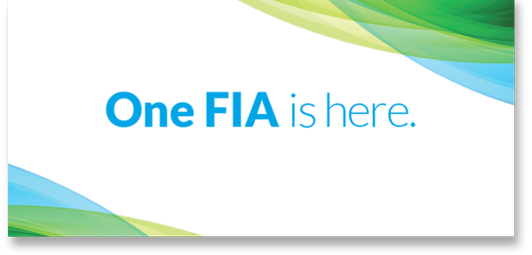 One FIA is here