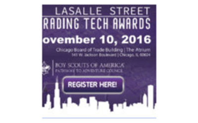 Invest in the Future; Trading Tech Awards Event to Launch Merit Badge Workshop Program Expansion