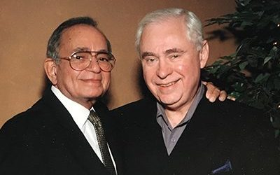 Business and Friendship Went Together For Leo Melamed, Bob Wilmouth and Leslie Rosenthal