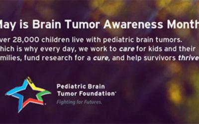 Fighting for Futures; Brain Tumor Awareness Month