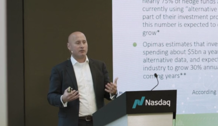 The Growing Value of Data – Oliver Albers, Nasdaq