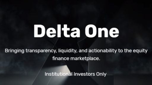 Delta One to Launch Equity Finance Marketplace; IMF Warns of Continued Vol Spikes