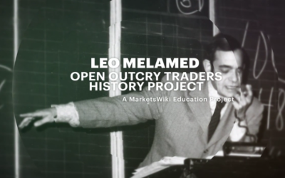 Leo Melamed – Open Outcry Traders History Project