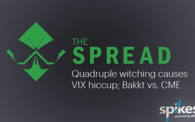 The Spread: Quadruple witching causes VIX hiccup; Bakkt vs. CME