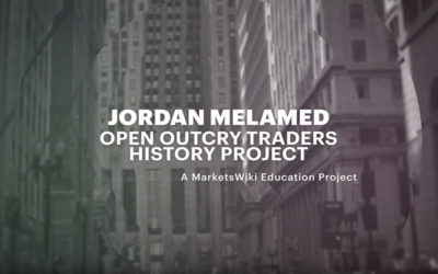 Jordan Melamed – Open Outcry Traders History Project