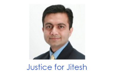 Letter to JLN from Vivek Sharma in Support of Jitesh Thakkar