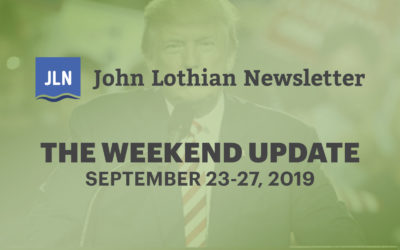 The Weekend Update: September 23-27, 2019