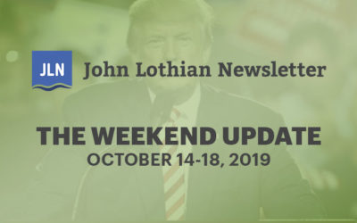 The Weekend Update: October 14-18, 2019