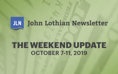 The Weekend Update: October 7-11, 2019