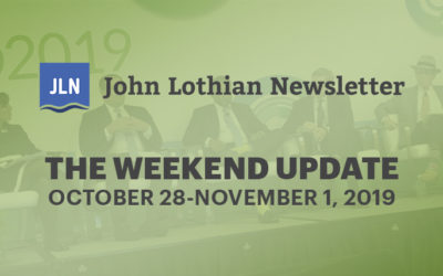 The Weekend Update: October 28 – November 1, 2019