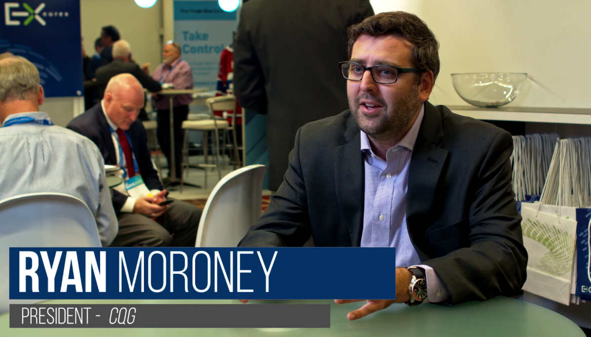 The transition to data solutions and commercial hedging tools: CQG's Ryan Moroney