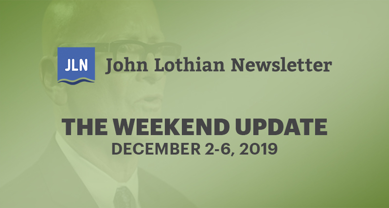 Weekend Update: December 2-6 2019
