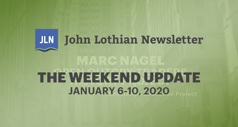 The Weekend Update: January 6-10, 2020