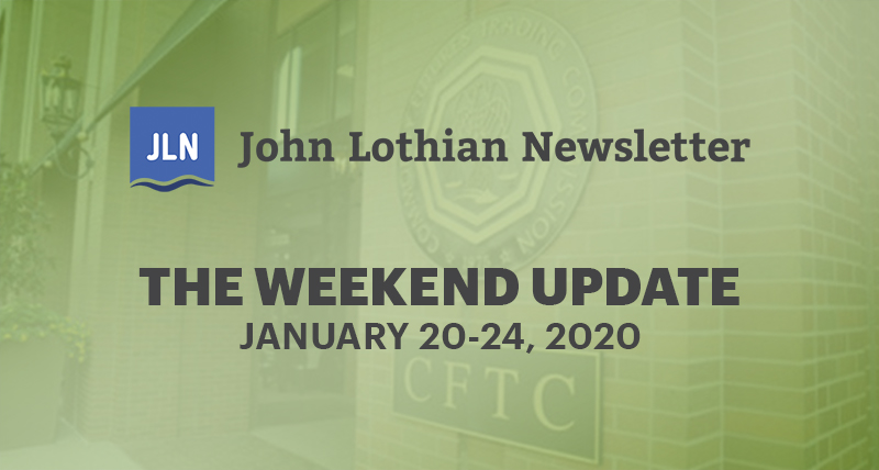 The Weekend Update: January 20-24, 2019