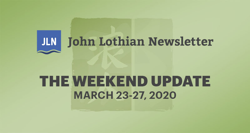 The Weekend Update: March 23-27, 2020