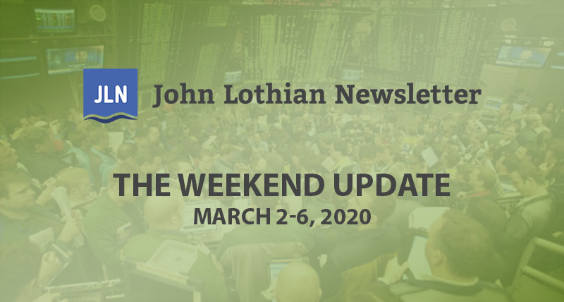 The Weekend Update: March 2-6, 2020