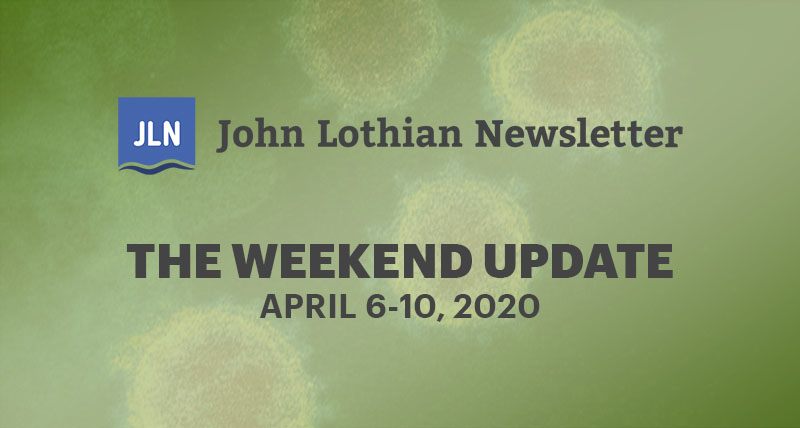 The Weekend Update: April 6-10, 2020