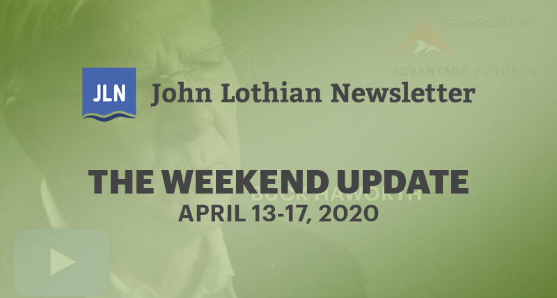 The Weekend Update: April 13-17, 2020