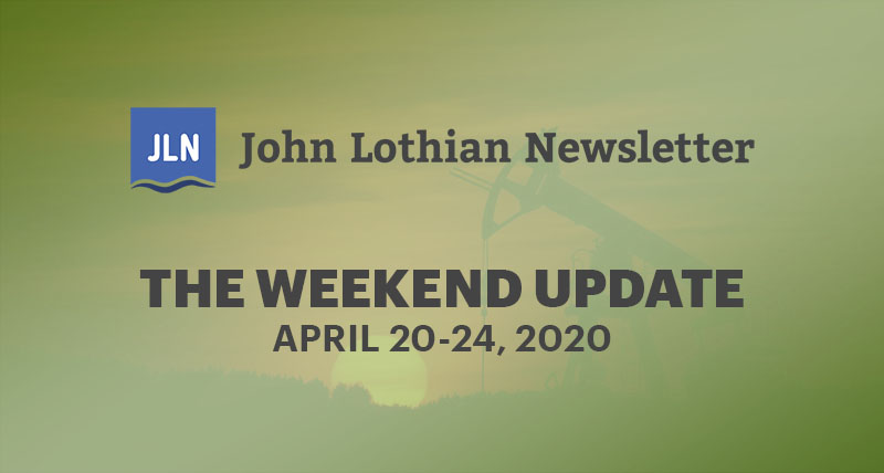 The Weekend Update: April 20-24, 2019