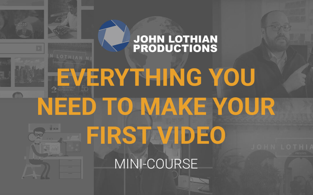 John Lothian Productions Offers FREE Online Video Production Mini-Course
