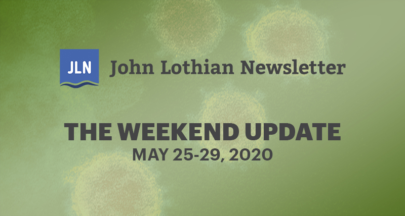 The Weekend Newsletter: May 25-29, 2020