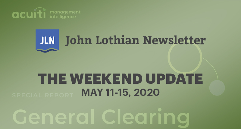 The Weekend Update: May 11-15, 2020