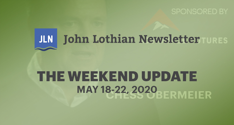The Weekend Update: May 18-22, 2020