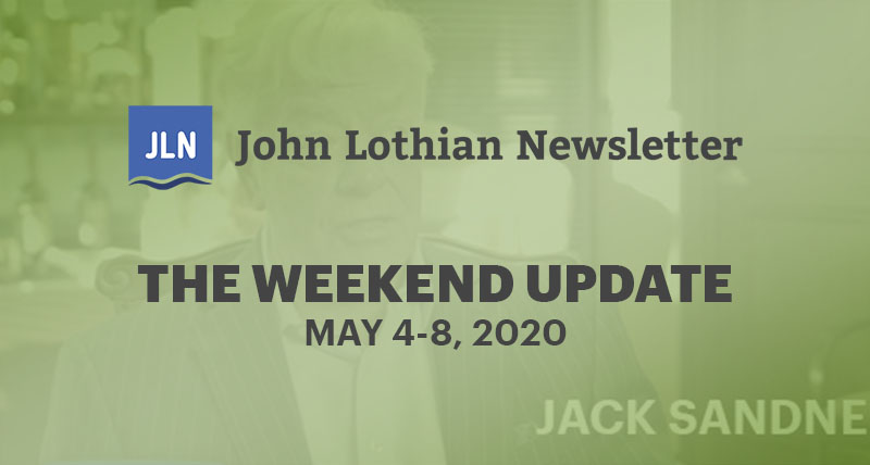 The Weekend Update: May 4-8, 2020