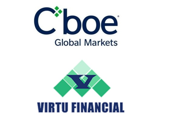 Cboe to buy Virtu's MATCHNow dark pool to expand into Canada; Sundial Says Extreme Options Sentiment Is Awful Omen for Stocks