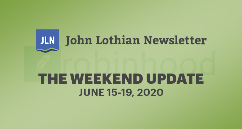 The Weekend Newsletter: June 15-19, 2020