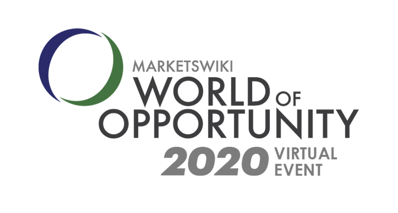MarketsWiki Education World of Opportunity 2020 Virtual Event Announced