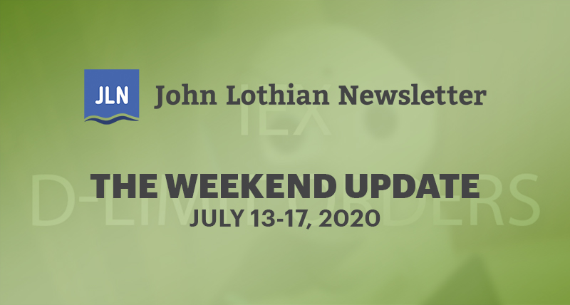 The Weekend Update: July 13-17, 2020