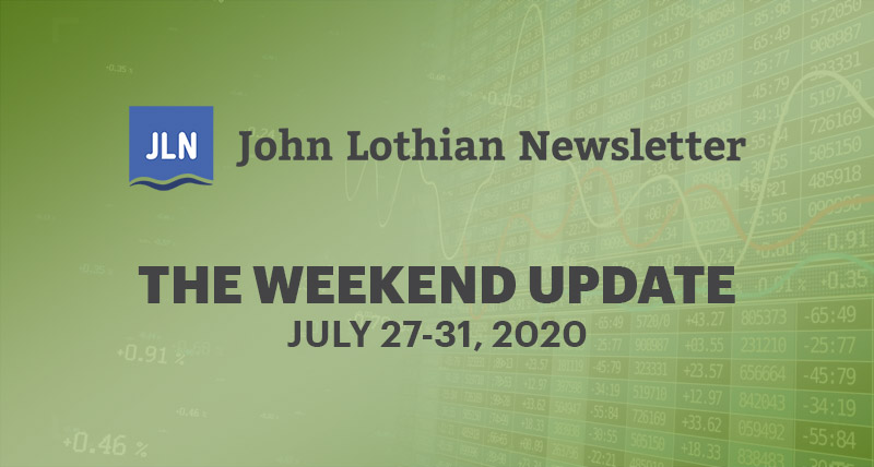 The Weekend Update: July 27-31, 2020
