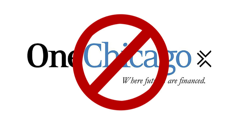 OneChicago to close on September 18 for trading. Long live OneChicago.
