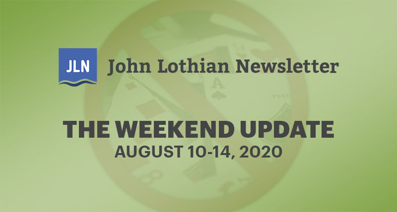 The Weekend Update: August 10-14, 2020