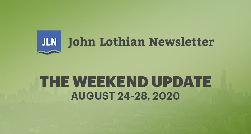 The Weekend Update: August 24-28, 2020