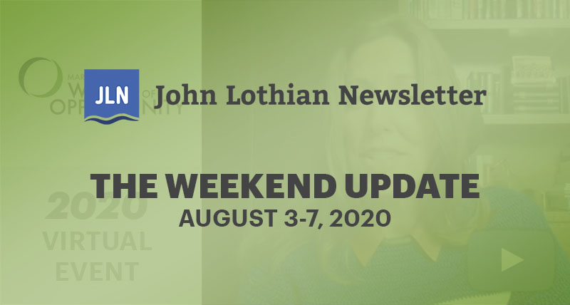 The Weekend Update: August 3-7, 2020