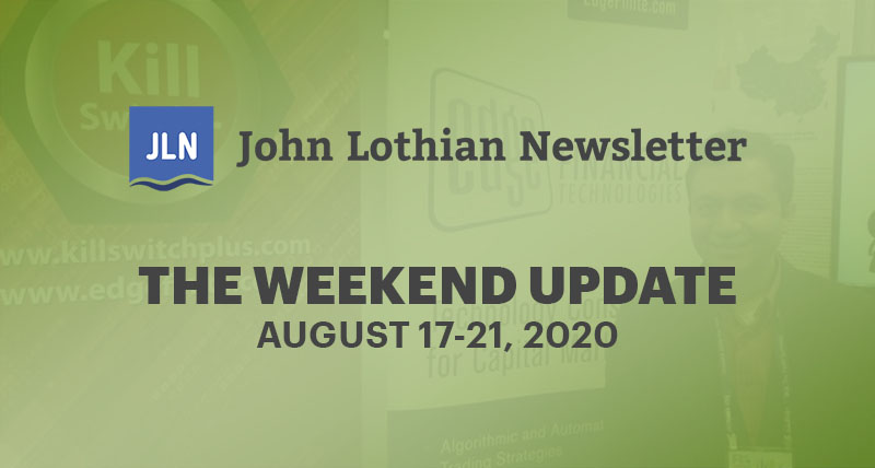 The Weekend Update: August 17-21, 2020