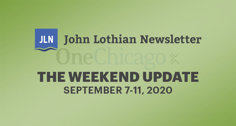 THE WEEKEND UPDATE: SEPTEMBER 8-11, 2020