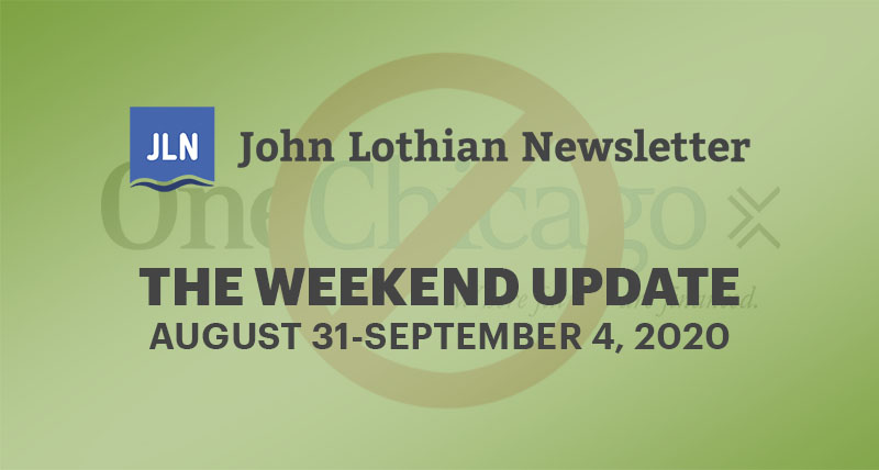 The Weekend Update: August 31-September 4, 2020