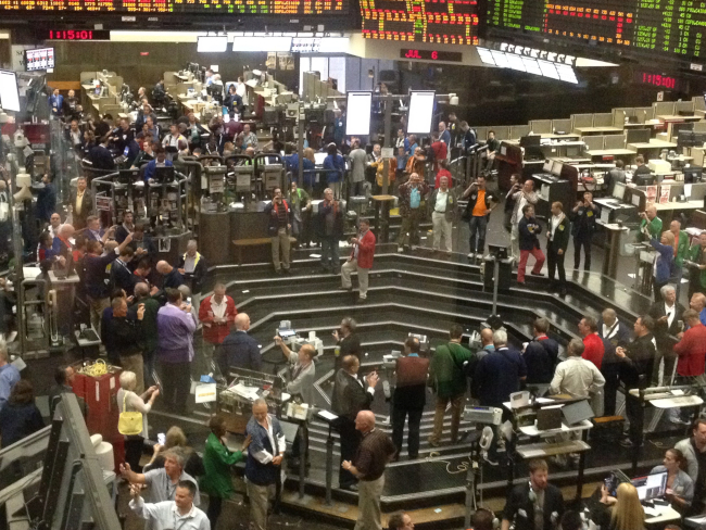 CME to permanently close most trading pits; Market Volatility on Yellen's Comments About Rate Increases Is Misdirected