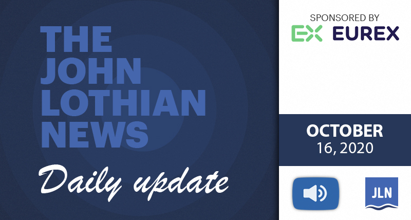 THE JOHN LOTHIAN NEWS DAILY UPDATE – 10/16/2020