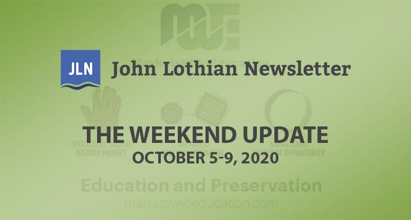 The Weekend Update: October 5-9, 2020