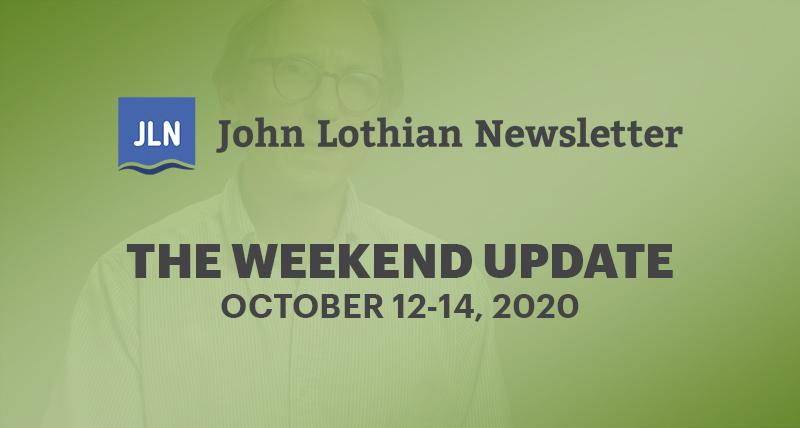 THE WEEKEND UPDATE: OCTOBER 12-16, 2020