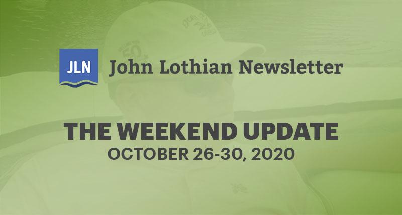 THE WEEKEND UPDATE: OCTOBER 26-30, 2020