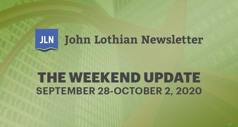 The Weekend Update: September 28-October 2, 2020