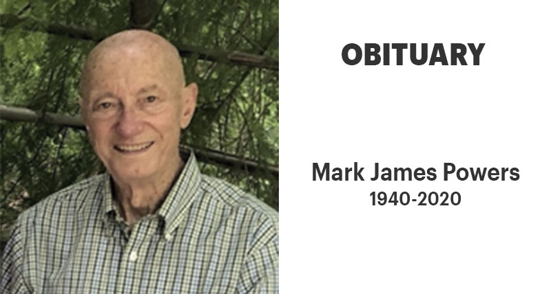 Mark James Powers, 1940-2020