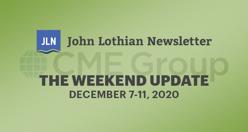 THE WEEKEND UPDATE: DECEMBER 7-11, 2020