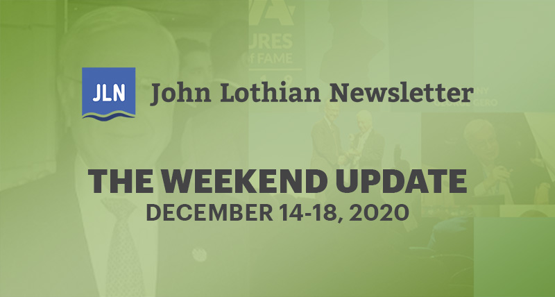 THE WEEKEND UPDATE: DECEMBER 14-18, 2020