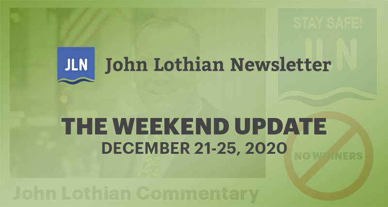 THE WEEKEND UPDATE: DECEMBER 21-24, 2020